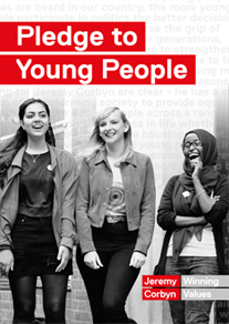 pledge to young people button
